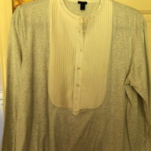 NWT J. Crew sold out Tuxedo Tee